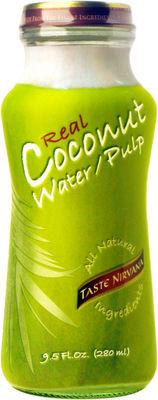 Real Coconut Water Pulp (mit Fruchtfleisch) 12 x 0,28l