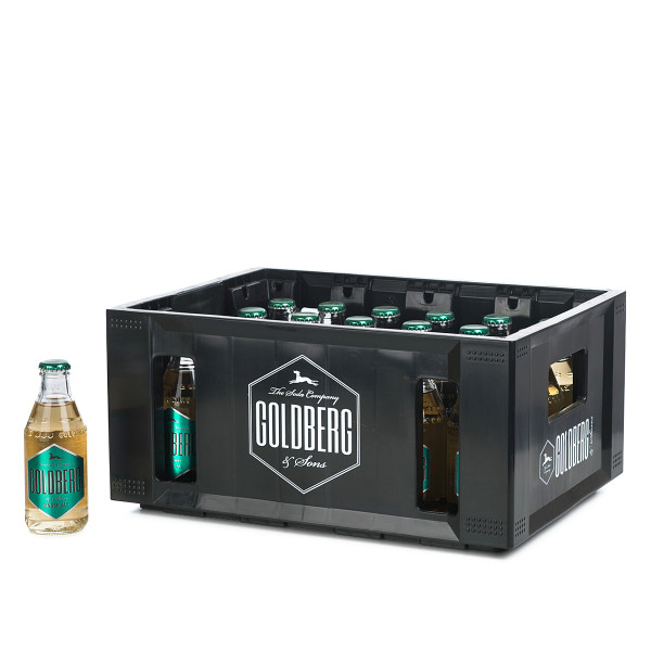 Goldberg Ginger Ale in der 0,2l Glasflasche