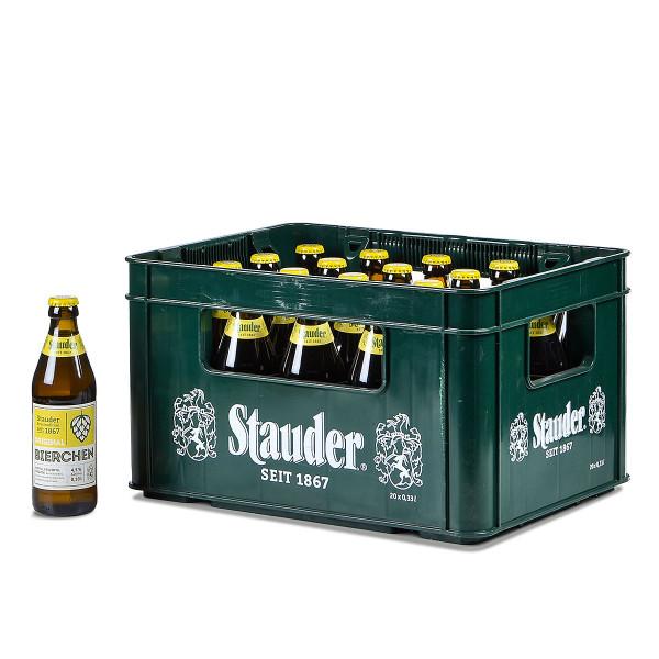 Stauder Bierchen 20 x 0,33l