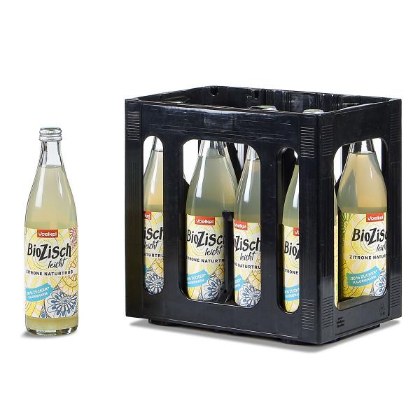 Voelkel BioZisch Leicht Zitrone trüb 10 x 0,5l