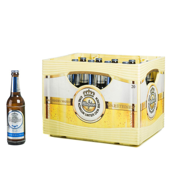 Warsteiner Pilsener Alkoholfrei 24 x 0,33l