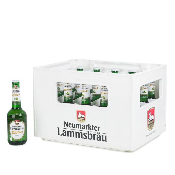 Lammsbräu Edelpils Zzzisch in der 0,5l Glasflasche