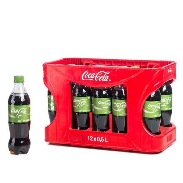 Coca-Cola Life 12 x 0,5l PET