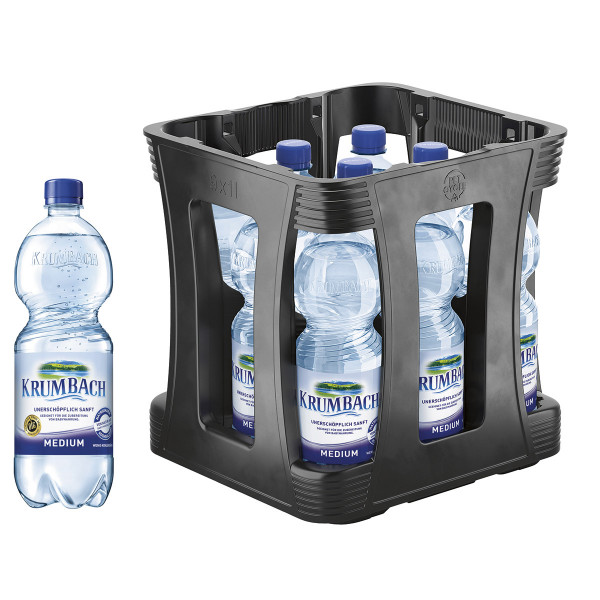 Krumbacher Medium 9 x 1l PET