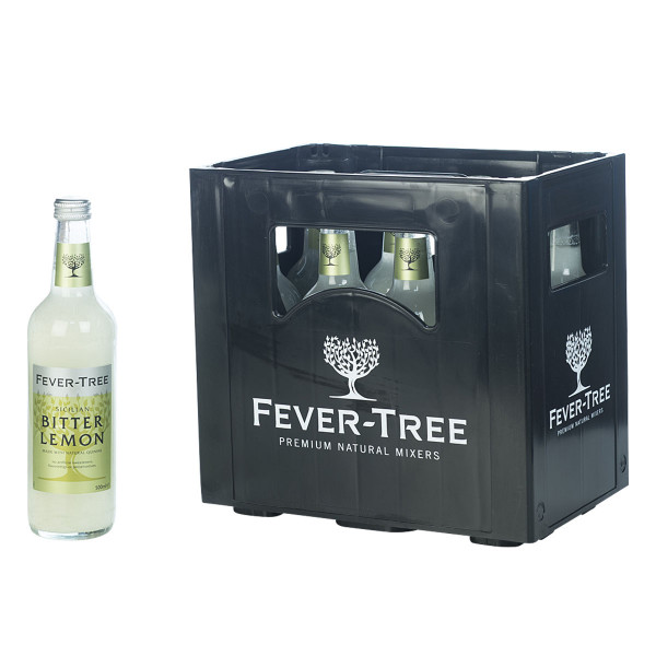 Fever Tree Bitter Lemon Tonic Water 24 x 0,2l