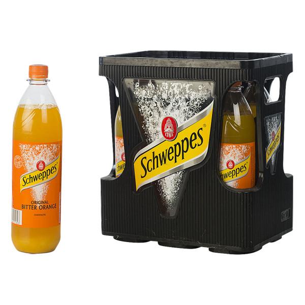 Schweppes Bitter Orange 6 x 1l