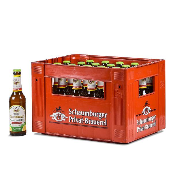 Schaumburger Natur-Alster alkoholfrei 24 x 0,33l