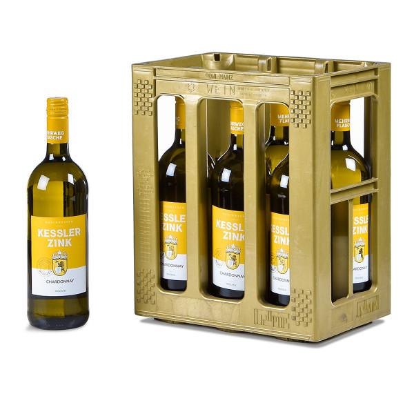 Kessler-Zink Chardonnay QbA trocken 6 x 1l