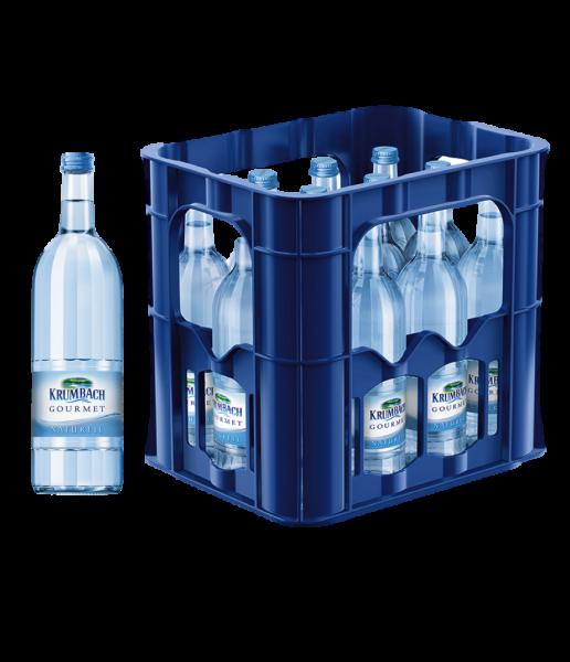 Krumbach Gourmet Naturell in der 0,75l Glasflasche