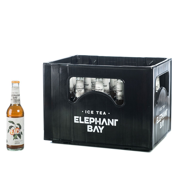 Elephant Bay Ice Tea Peach 24 x 0,33l