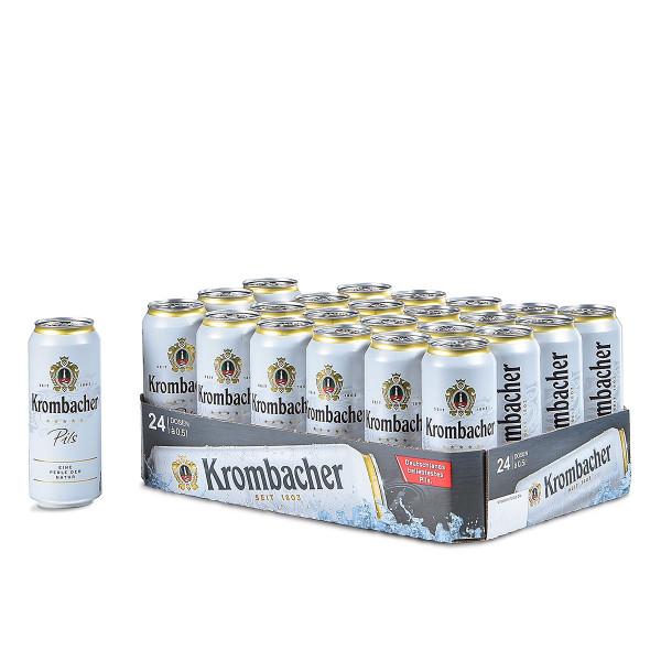 Krombacher Pils 24 x 0,5l Dose