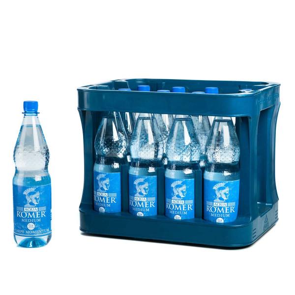 Aqua Römer Medium 12 x 1,0l PET