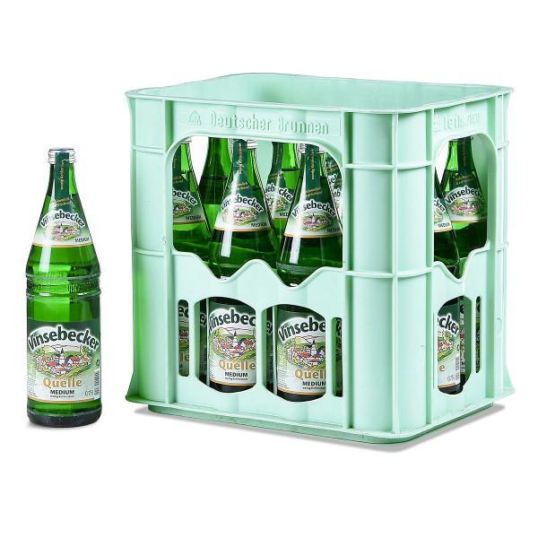 Vinsebecker Quelle 12 x 0,75l Glas