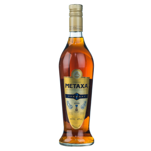 Metaxa Brandy 7 Sterne The Original Greek Spirit 0,7l