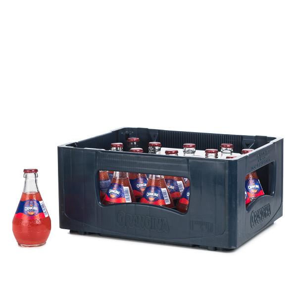 Orangina Rouge in der 0,25l Glasflasche