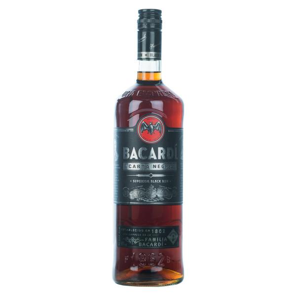 Bacardi Carta Negra Rum 1l