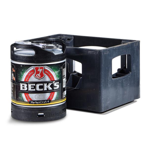 Beck's Pils Perfect Draft 6l mit Kasten