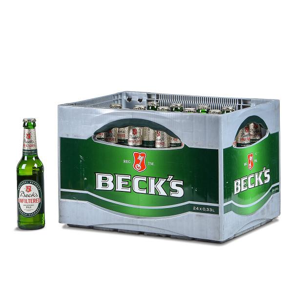 Becks Unfiltered Pils 24 x 0,33l