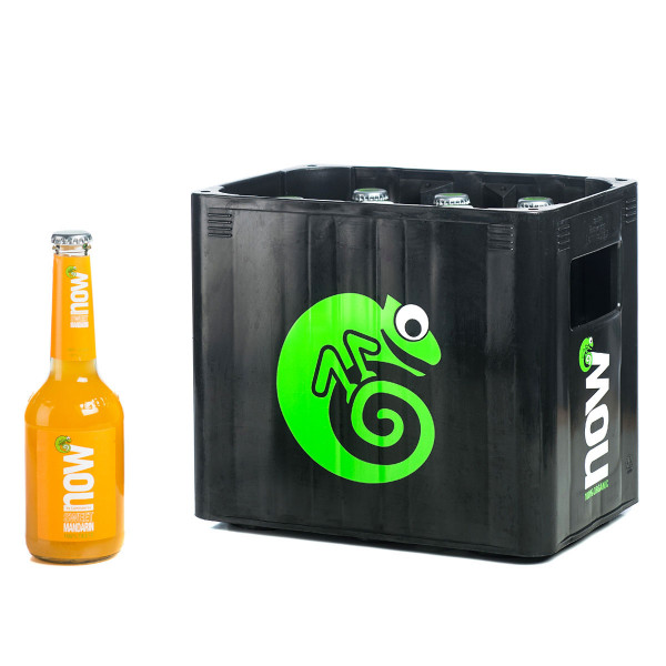 NOW Sweet Mandarin Limonade 10 x 0,33l