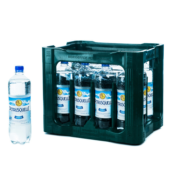 Petrusquelle Spritzig 12 x 1l PET