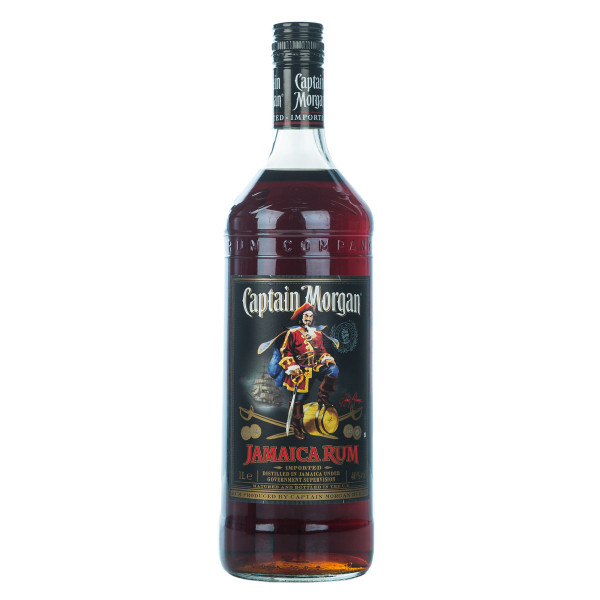Captain Morgan Black Jamaica Rum 1l