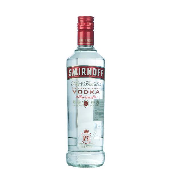 Smirnoff Red Label Vodka 0,5l