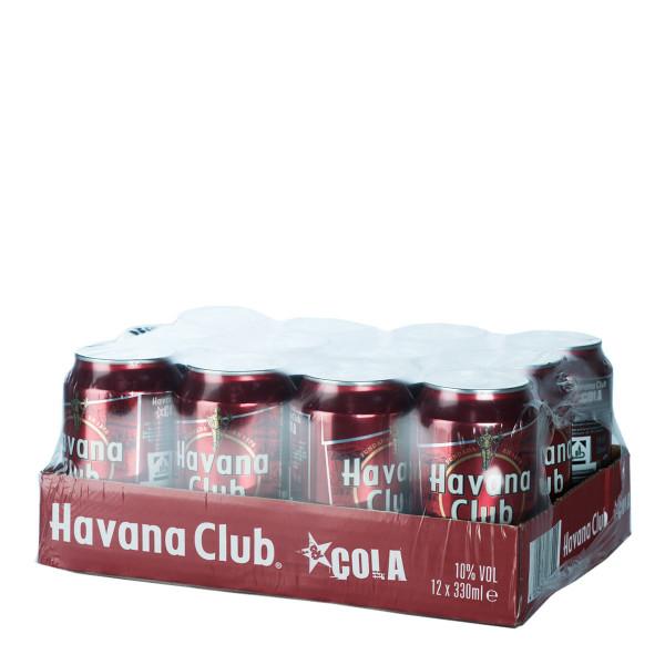 Havana Club & Cola Mix 12 x 0,33l