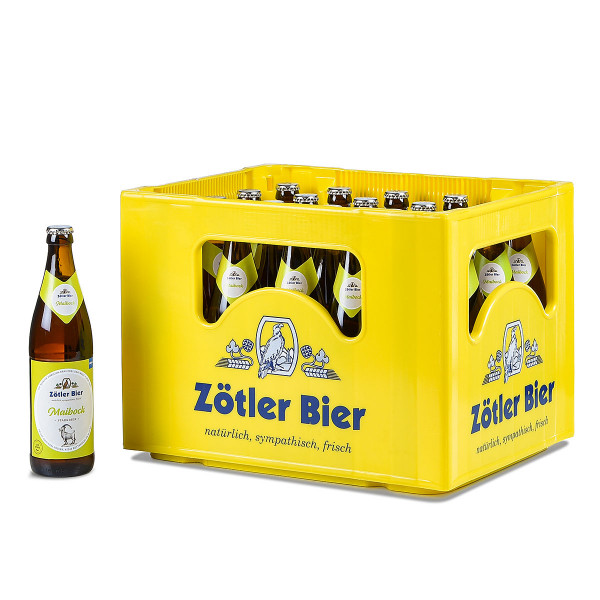 Zötler Mai-Bock 20 x 0,5l