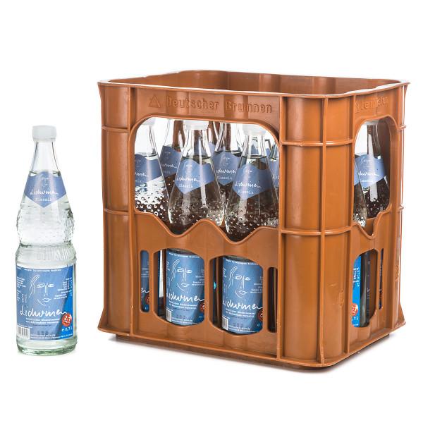 Lidwinen Mineralwasser Sprudel in der 1l Glasflasche