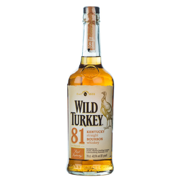 Wild Turkey 81 Proof Whiskey 0,7l