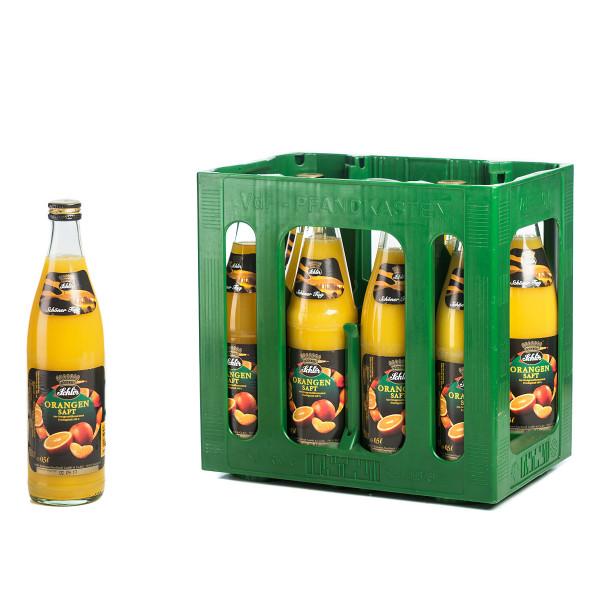 Schlör Orangensaft Exquisit 10 x 0,5l Glas