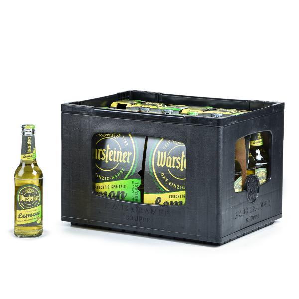 Warsteiner Lemon 24 x 0,33l