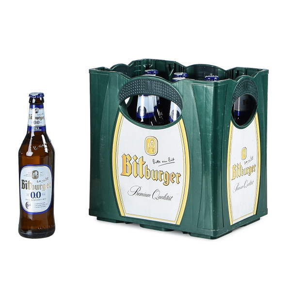 Bitburger Alkoholfreies Pils 11 x 0,5l