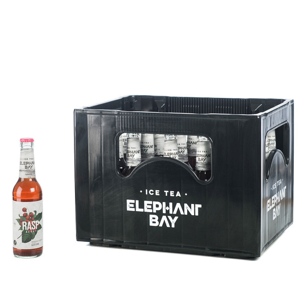 Elephant Bay Ice Tea Raspberry 24 x 0,33l