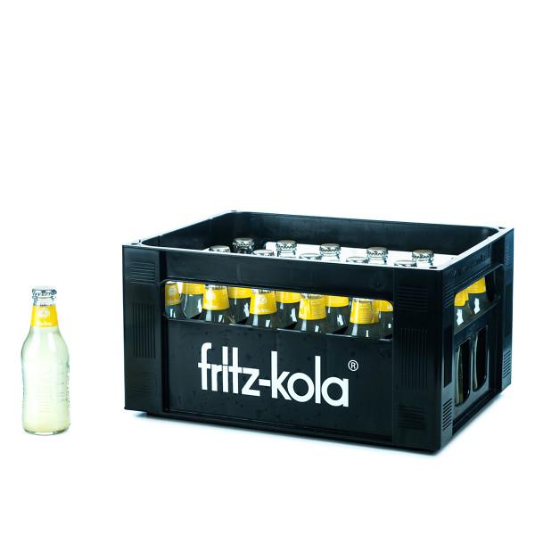 Fritz-Kola Zitrone 24 x 0,2l Glas