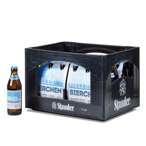 Stauder Helles Bierchen 20 x 0,33l