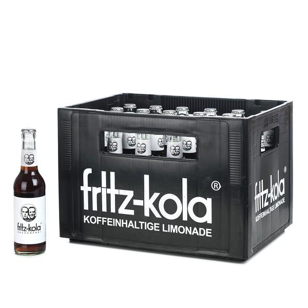 Fritz-Kola zuckerfei in der 0,33l Glasflasche