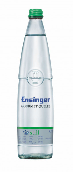 Ensinger Gourmet BIO Still 12 x 0,75l