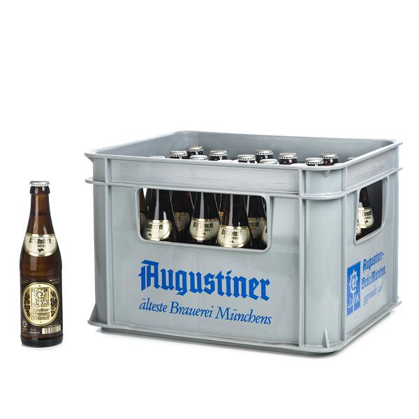 Augustiner Lagerbier Edelstoff in der 0,33l Glasflasche