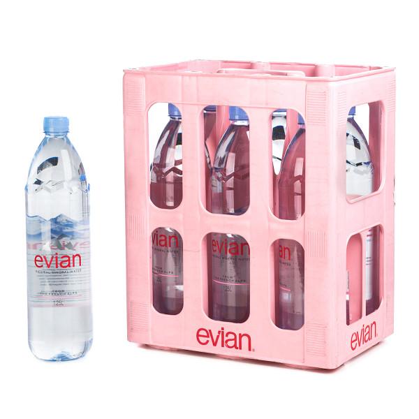 Evian 6 x 1,25l PET