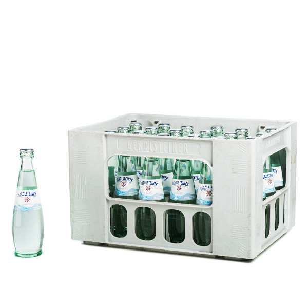 Gerolsteiner Sprudel  24 x 0,25l Glas